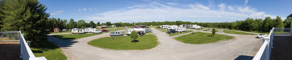 Timbercrest Campground Panorama